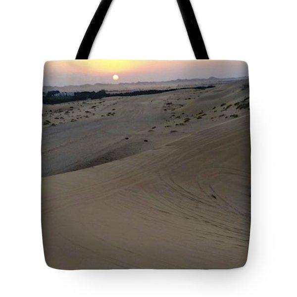 Al Ain Desert 8 Tote Bag