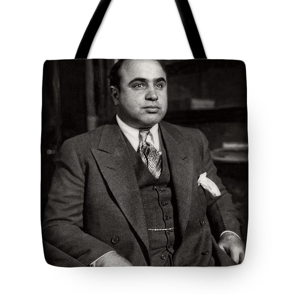 Al Capone - Scarface Tote Bag