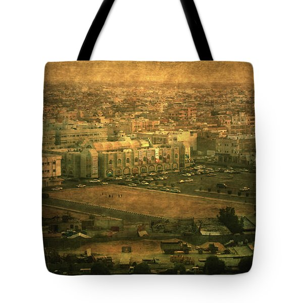 Al-khobar On Texture Tote Bag