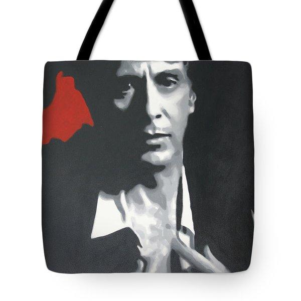 Al Pacino 2013 Tote Bag by Luis Ludzska