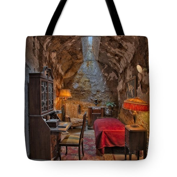 Al Scarface Capone Cell Tote Bag by Susan Candelario