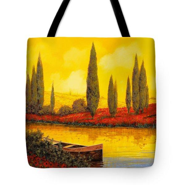 Al Tramonto Tote Bag by Guido Borelli