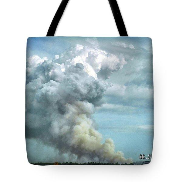 Alabama Fire Tote Bag