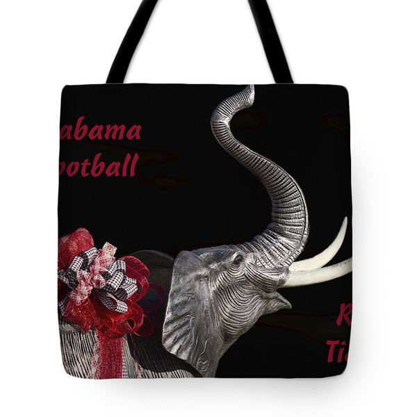 Alabama Football Roll Tide Tote Bag