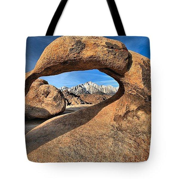 Alabama Hills Mobius Arch Tote Bag