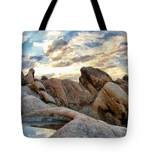 Alabama Hills Sunset Tote Bag by Cat Connor