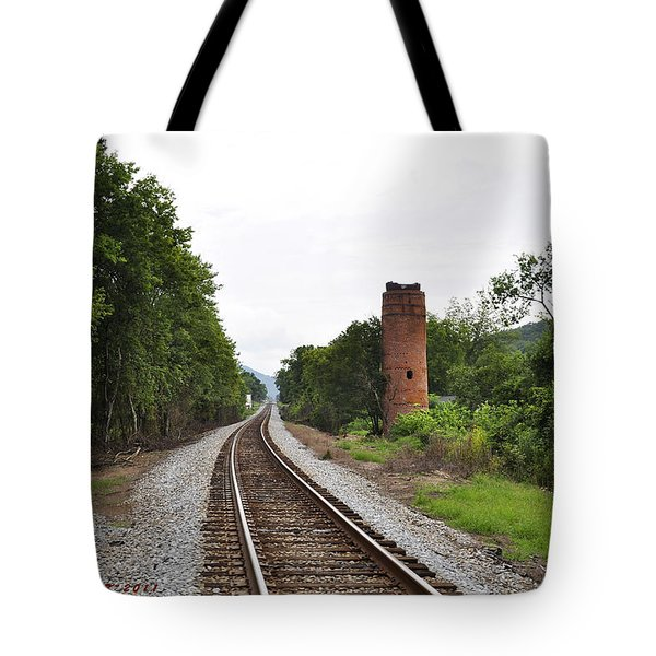 Tote Bag featuring the photograph Alabama Tracks by Verana Stark