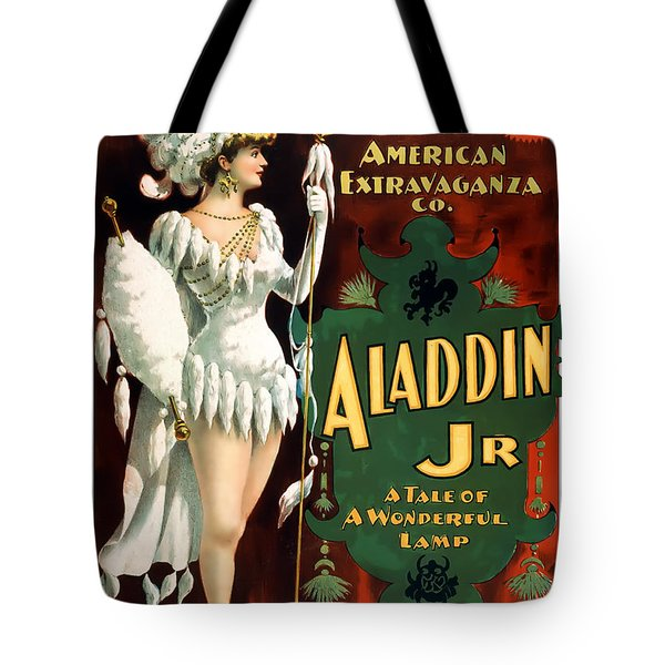 Aladdin Jr Amazon Tote Bag