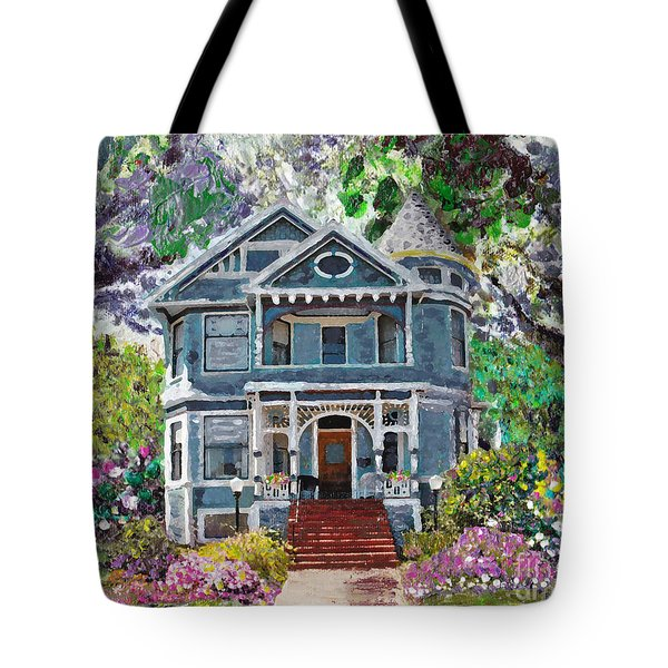 Alameda 1890 Queen Anne Tote Bag