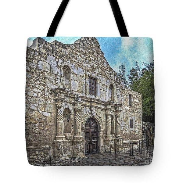 Alamo Hdr Tote Bag