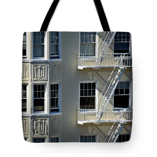 Tote Bag featuring the photograph Alamo Square San Francisco by Steven Richman