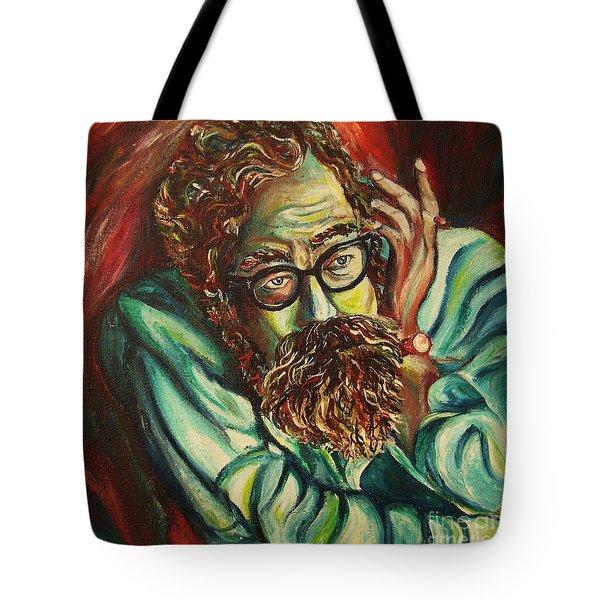 Alan Ginsberg Poet Philosopher Tote Bag