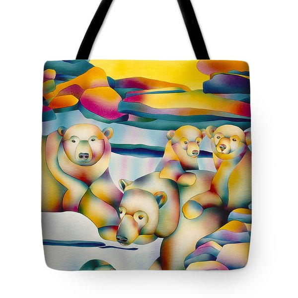 Alaska Paradise  Tote Bag