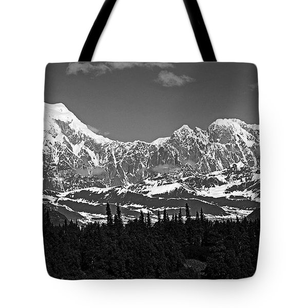 Alaska Range Tote Bag