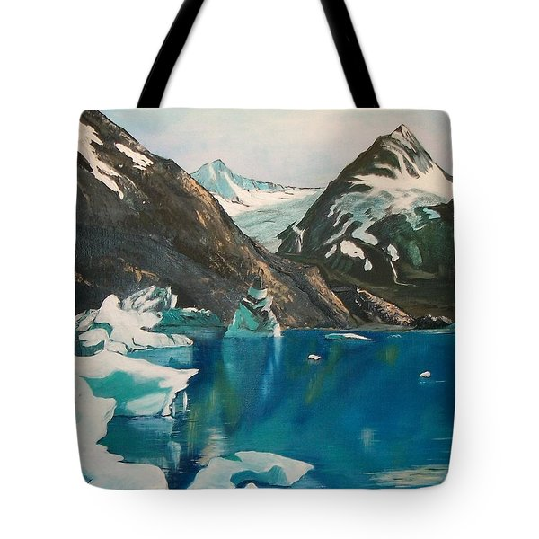Alaska Reflections Tote Bag