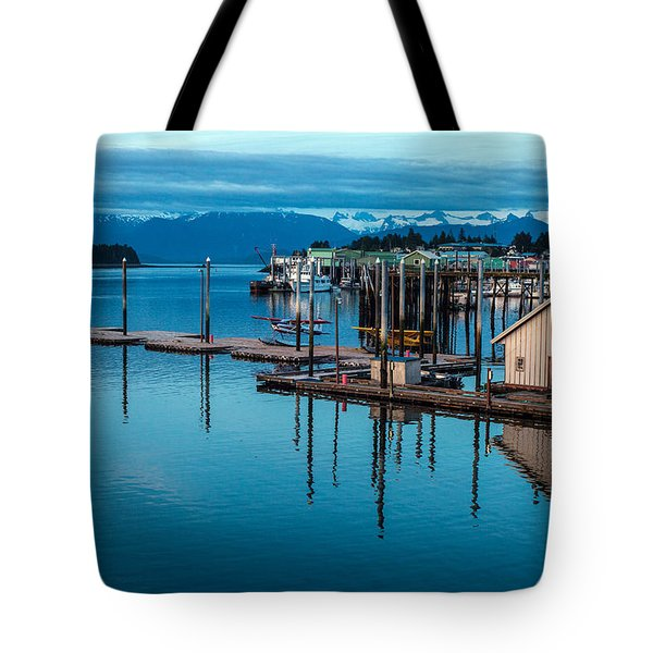 Alaska Seaplanes Tote Bag by Mike Reid