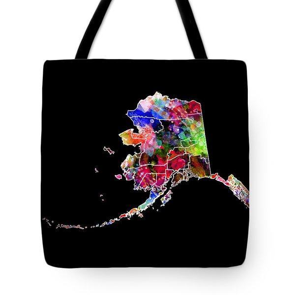Alaska State 2 Tote Bag by Daniel Hagerman