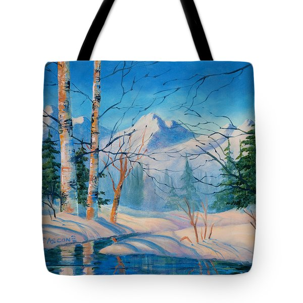 Alaska Winter Tote Bag