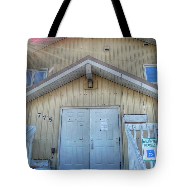 Alaskan Church Tote Bag