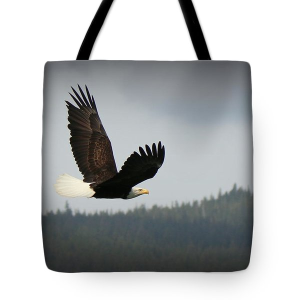 Alaskan Flight Tote Bag