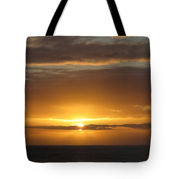Tote Bag featuring the photograph Alaskan Sunset by Jennifer Wheatley Wolf