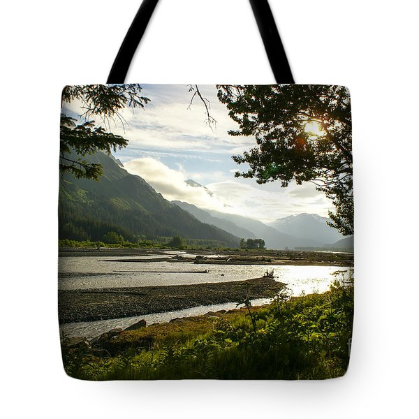 Alaskan Valley Tote Bag