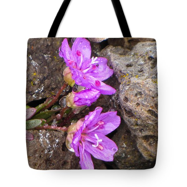 Alaskan Wildflower Tote Bag