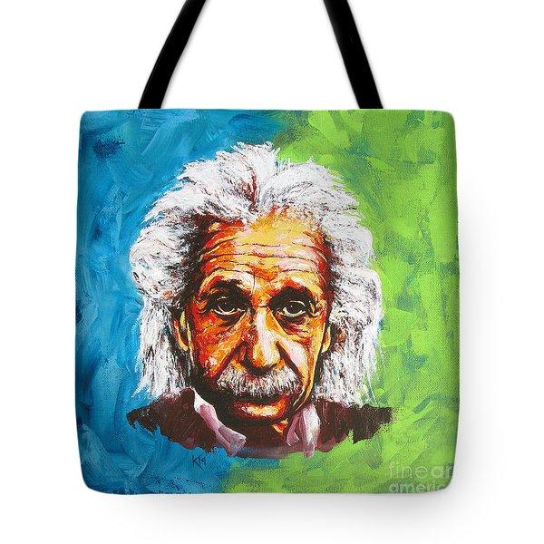 Albert Tribute Tote Bag