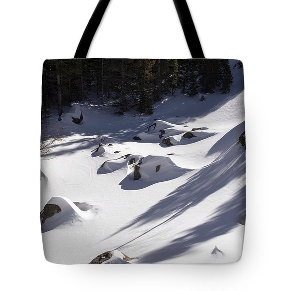 Alberta Falls In Estes Park Colorado Tote Bag