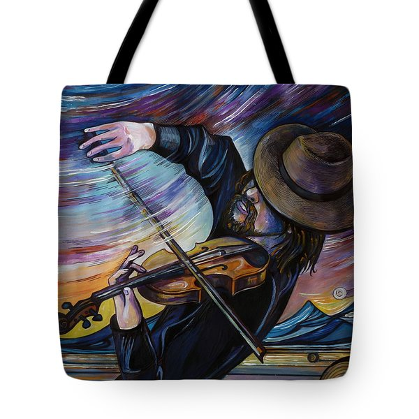 Alberta Fiddle Tote Bag