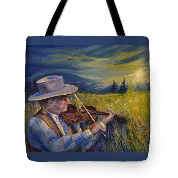 Alberta Lullaby Tote Bag by Anna  Duyunova