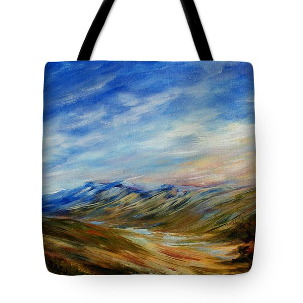 Alberta Moment Tote Bag by Joanne Smoley