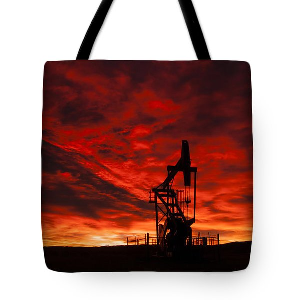 Alberta Sunrise Tote Bag