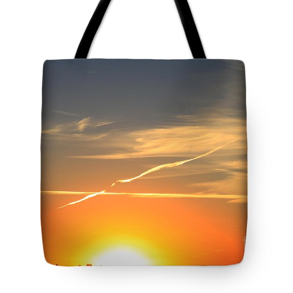 Alberta Sunset Tote Bag by Alyce Taylor