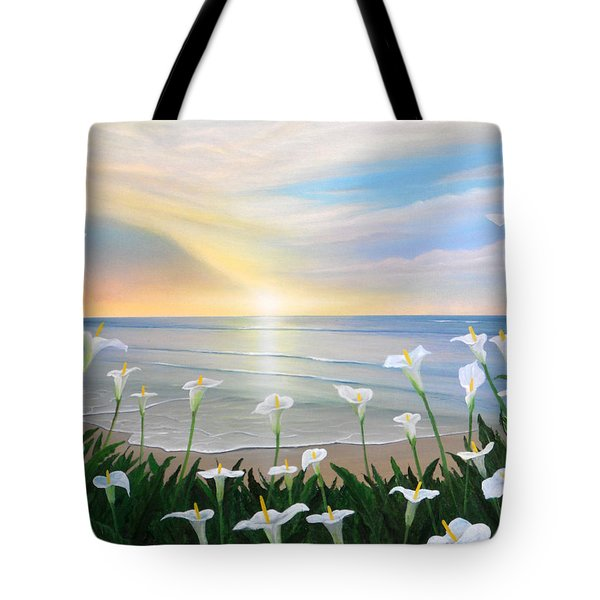Alcatraces Tote Bag by Angel Ortiz