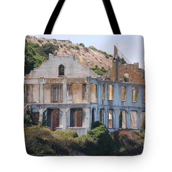 Alcatraz #3 Tote Bag