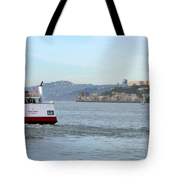 Alcatraz Island From Fisherman's Wharf 2 Tote Bag