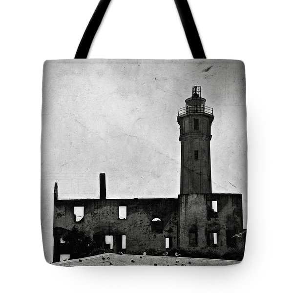 Alcatraz Island Lighthouse Tote Bag by RicardMN Photography