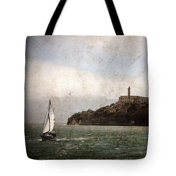 Alcatraz Island Tote Bag