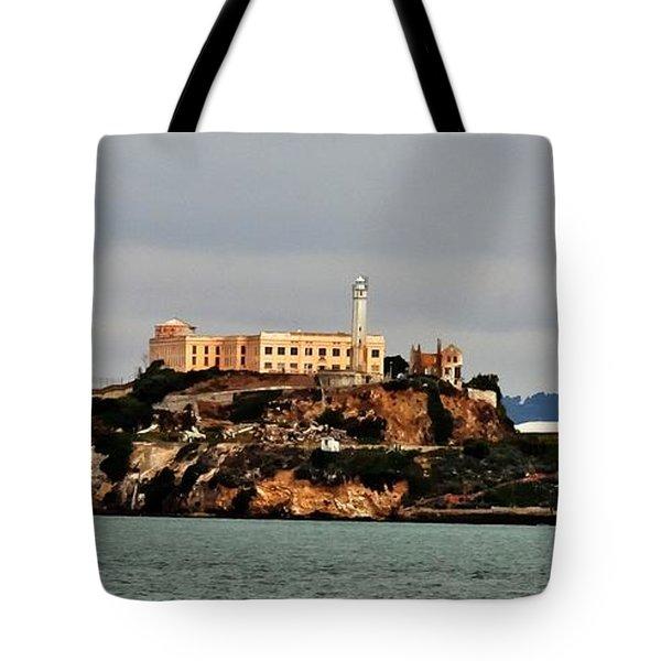 Alcatraz Island - The Rock Tote Bag