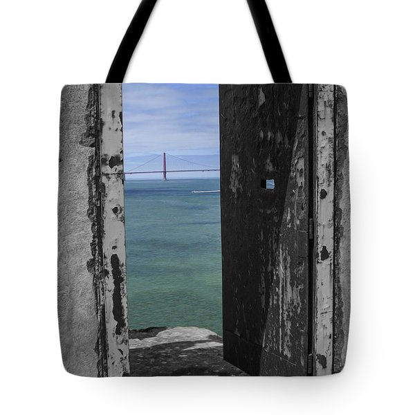 Alcatraz -the Rock Tote Bag