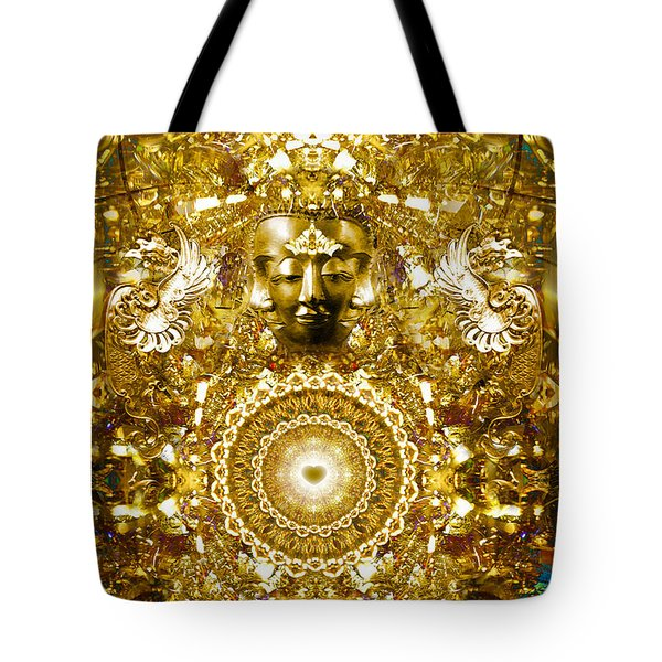 Alchemy Of The Heart Tote Bag by Jalai Lama