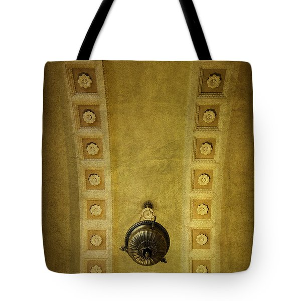 Tote Bag featuring the photograph Alcove Light by Betty Denise