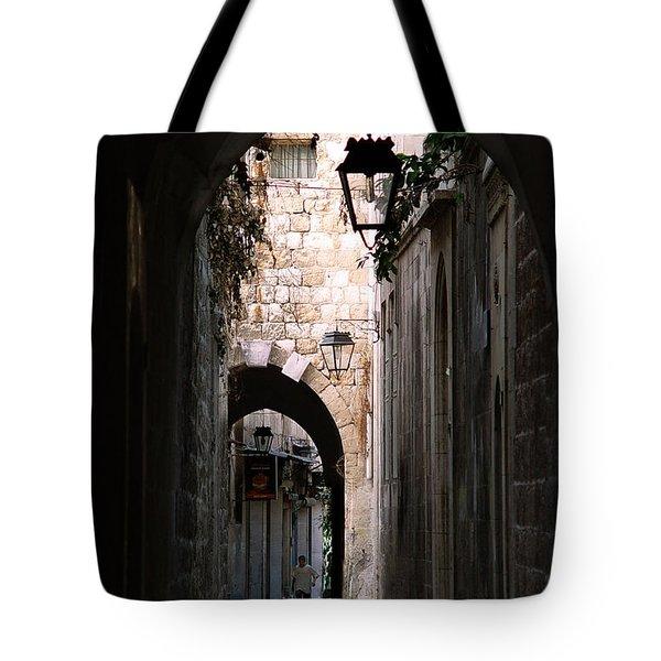 Aleppo Alleyway01 Tote Bag