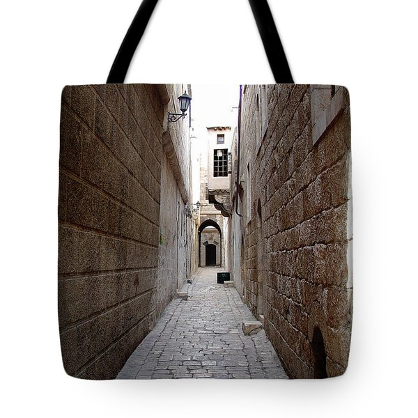 Aleppo Alleyway02 Tote Bag