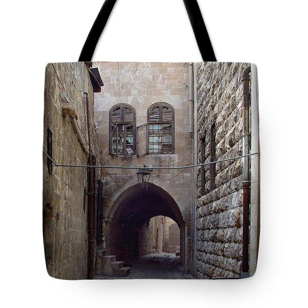 Aleppo Alleyway03 Tote Bag