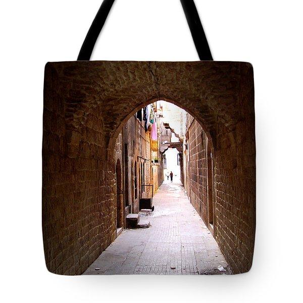 Aleppo Alleyway06 Tote Bag