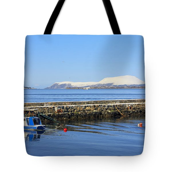 Alesund Lighthouse Tote Bag