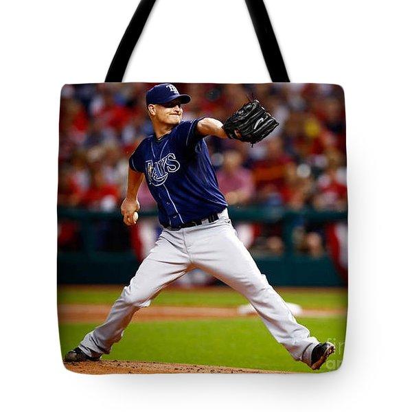 Alex Cobb #53 Tote Bag