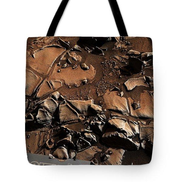 Alexander Hills Bedrock In Mars Tote Bag